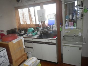 2階キッチン リフォーム前